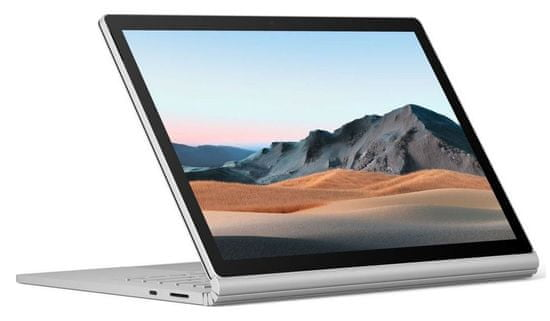 Microsoft Surface Book 3 prenosnik, platinast (V6F-00024)