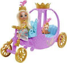 Mattel Enchantimals Královský kočár