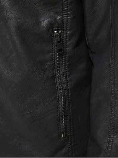 Jack&Jones Pánská bunda JJEWARNER 12182461 Black