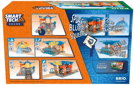 Brio WORLD 33975 SMART TECH SOUND Umývačka s dielňou