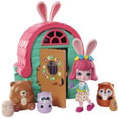 Mattel Enchantimals Tajné útočiště nejlepších přátel Bree Bunny