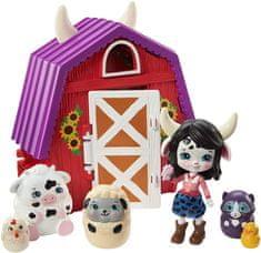 Mattel Enchantimals Tajné útočiště nejlepších přátel Cambrie Cow