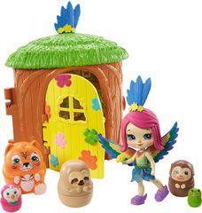 Mattel Enchantimals Tajné útočiště nejlepších přátel Peeki Parrot