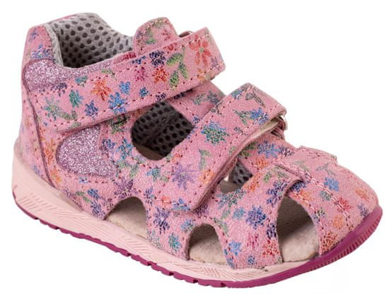 Medico dekliški usnjeni sandali EX4520/M177