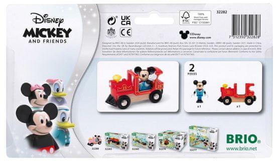Brio WORLD 32282 Disney and Friends Lokomotiva Mickey miška