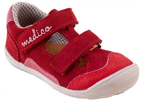 Medico dekliški usnjeni sandali EX4088/M171