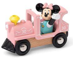 Brio WORLD 32288 Disney and Friends Mozdony Minnie egér