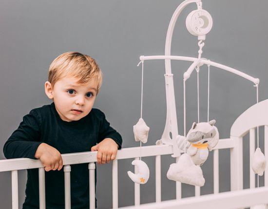 ZOPA vrtuljak za dječji krevetić Racoon