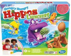 HASBRO Głodne hipopotamy - wyrzutnie