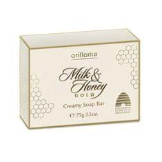 Oriflame Krémové mydlo Milk & Honey Gold (Creamy Soap Bar) 75 g