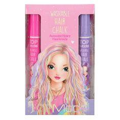 Top Model Barevná Křída na vlasy ASST, Louise, růžový box