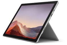 Microsoft Surface Pro 7 prenosnik, platinast (VAT-00035)