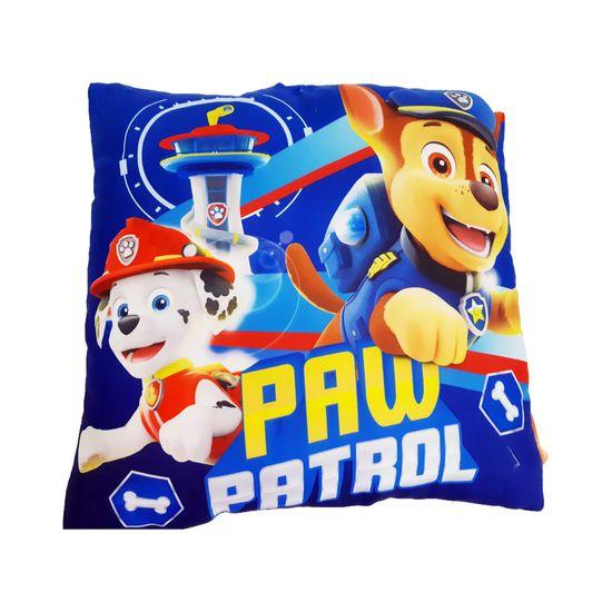 "SETINO Fantovski vzglavnik ""Tačke na patrulji - Pups Rescue"" - 40x40cm - modra"