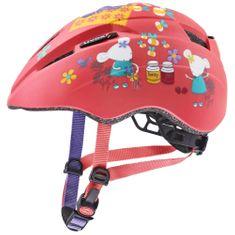 Uvex helma Kid 2 CC 46-52 cm Coral Mouse Mat 2021