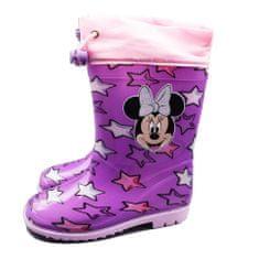"""SETINO Dekliški škornji """"Minnie mouse"""" - vijolična - 30"""