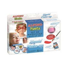 Alpino MakeUp farba na tvár (8 farieb + štetec + sprievodca)