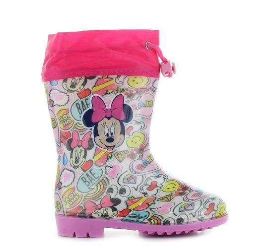 """SETINO Dievčenské gumáky """"Minnie mouse"""" - ružová"""