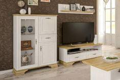 VerDesign JARMANKA malá obývacia stena