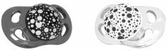 Twistshake 2x Cumlík mini 0-6m Čierna Biela
