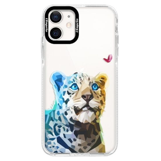 iSaprio Silikónové puzdro s bumperom - Leopard With Butterfly pre Apple iPhone 12 Pro Max