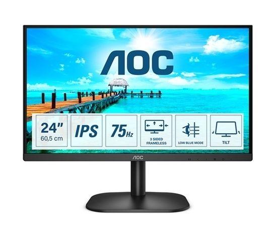 AOC 24B2XDA IPS FHD monitor