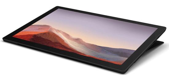Microsoft Surface Pro 7 prenosnik, črn (PUV-00037)