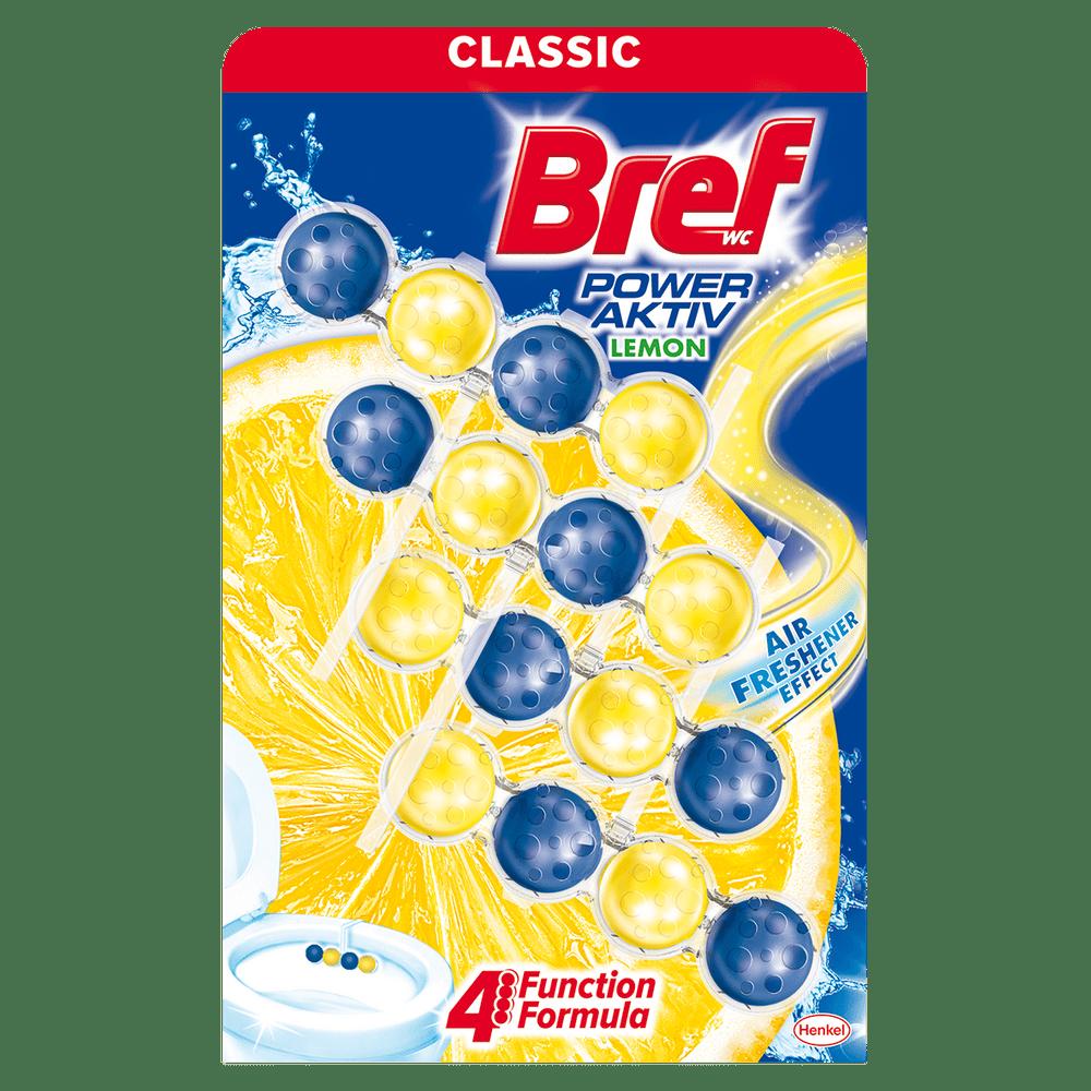 Bref Power Aktiv Quattro Lemon 4x 50g