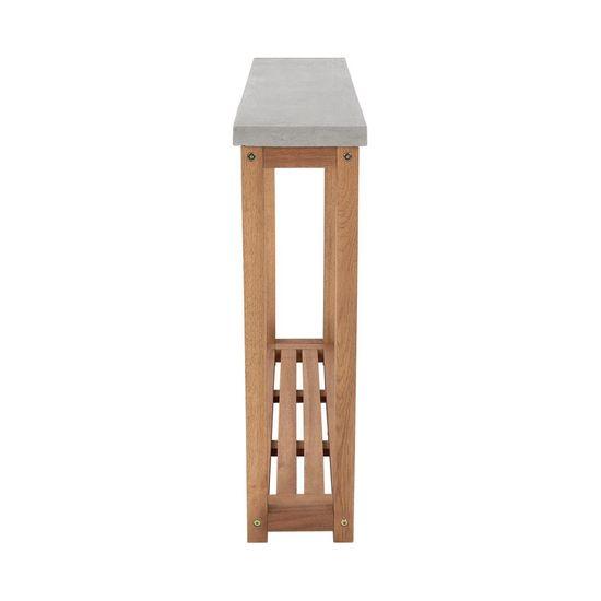 Butlers Konzolový stolek s betonovou deskou