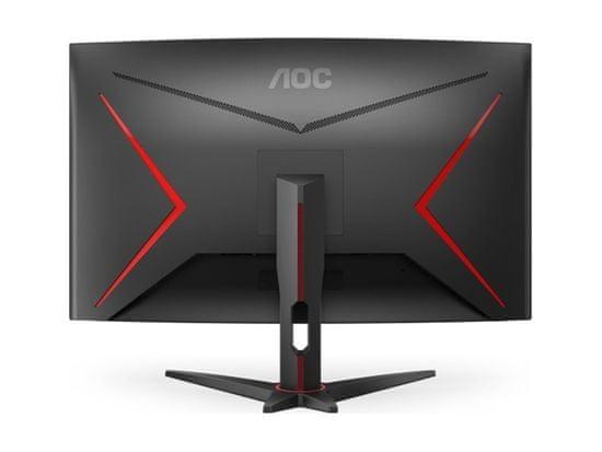 AOC CQ32G2SE/BK VA QHD monitor, ukrivljen