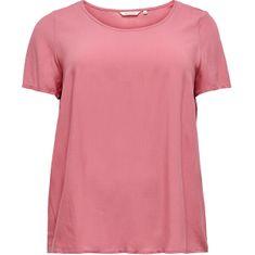 Only Carmakoma Ženska majica Loose Fit CARFIRSTLY LIFE 15226657 Baročna Rose (Velikost 48)