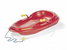 Rolly Toys Snow Max boby-červené