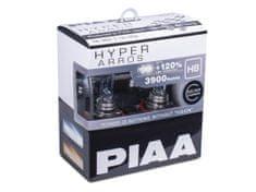 PIAA autožárovky Hyper Arros 3900K H8 - o 120 % vyšší svítivost, zvýšený jas