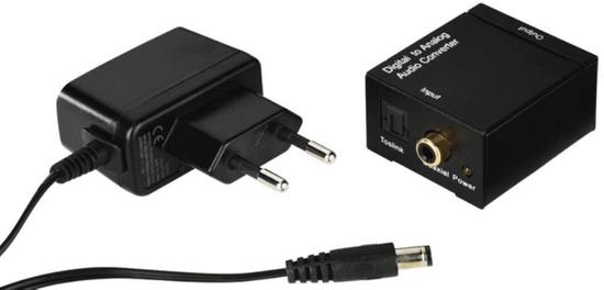 HAMA konwerter audio AC80, czarny