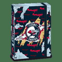 Ars Una Box na sešity Flying Sharks A4