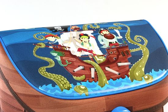 Ars Una Set Ars Una Aktovka a Penál Pirát Jolly Roger