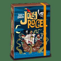 Ars Una Ars Una Box na sešity Pirát Jolly Roger A4