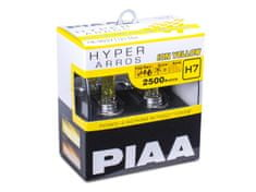 PIAA autožárovky Hyper Arros Ion Yellow 2500K H7 - teplé žluté světlo 2500K do extrémních podmínek