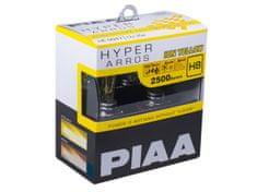 PIAA autožárovky Hyper Arros Ion Yellow 2500K H8 - teplé žluté světlo 2500K do extrémních podmínek