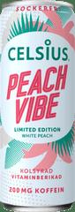 Celsius Energetický Nápoj Peach Vibe - Příchuť Broskev - 355ml