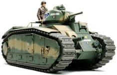 shumee Francúzsky bojový tank B1 bis