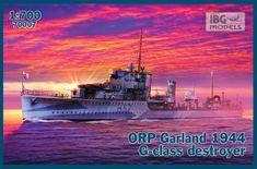 shumee Plastikový model ORP Garland 1944 G-Class Destroyer
