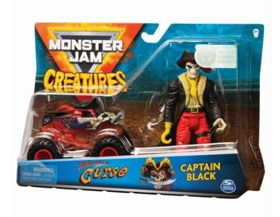 shumee Pojazd z figurką, Pirates Curse Monster Jam