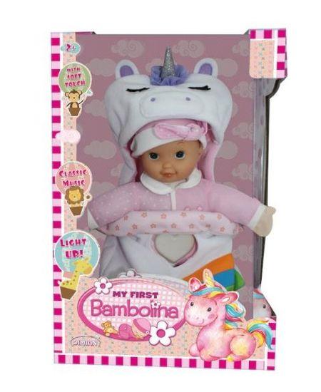 shumee Moja prvá bambolínová bábika so svetlom