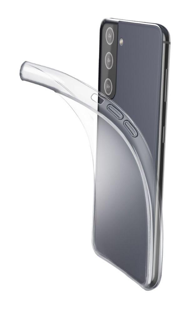 CellularLine Extratenký zadní kryt Fine pro Samsung Galaxy S21 Plus, bezbarvý FINECGALS21PLT
