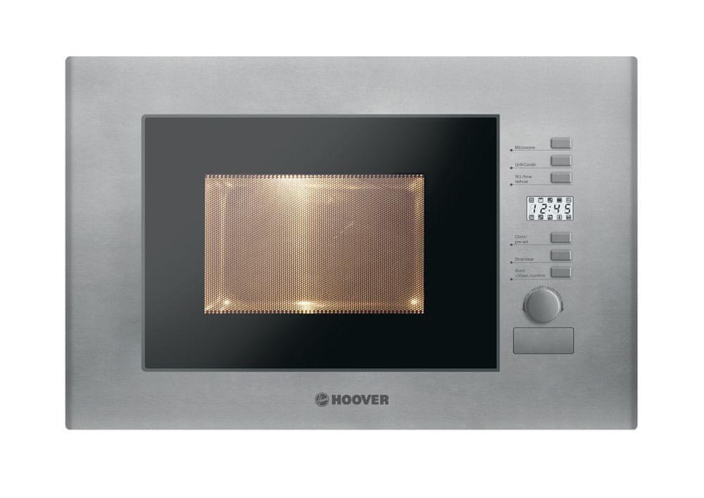 Hoover vestavná mikrovlnná trouba HMB 20/1 GDFX + 5 let záruka
