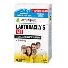 BIOVIT Swiss NatureVia Laktobacily 5 ATB cps.10
