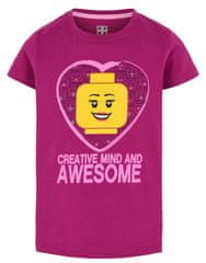 LEGO Wear dívčí tričko LW-12010002 98 růžová