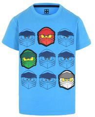 LEGO Wear chlapecké tričko Ninjago LW-12010022 98 modrá