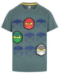LEGO Wear chlapčenské tričko Ninjago LW-12010022 104 zelená