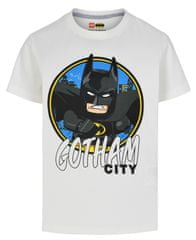 LEGO Wear chlapecké tričko Batman LW-12010023 104 bílá